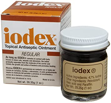 Amazon.com: Baar Productos Inc. iodex, 1-Ounce Jar: Health ...