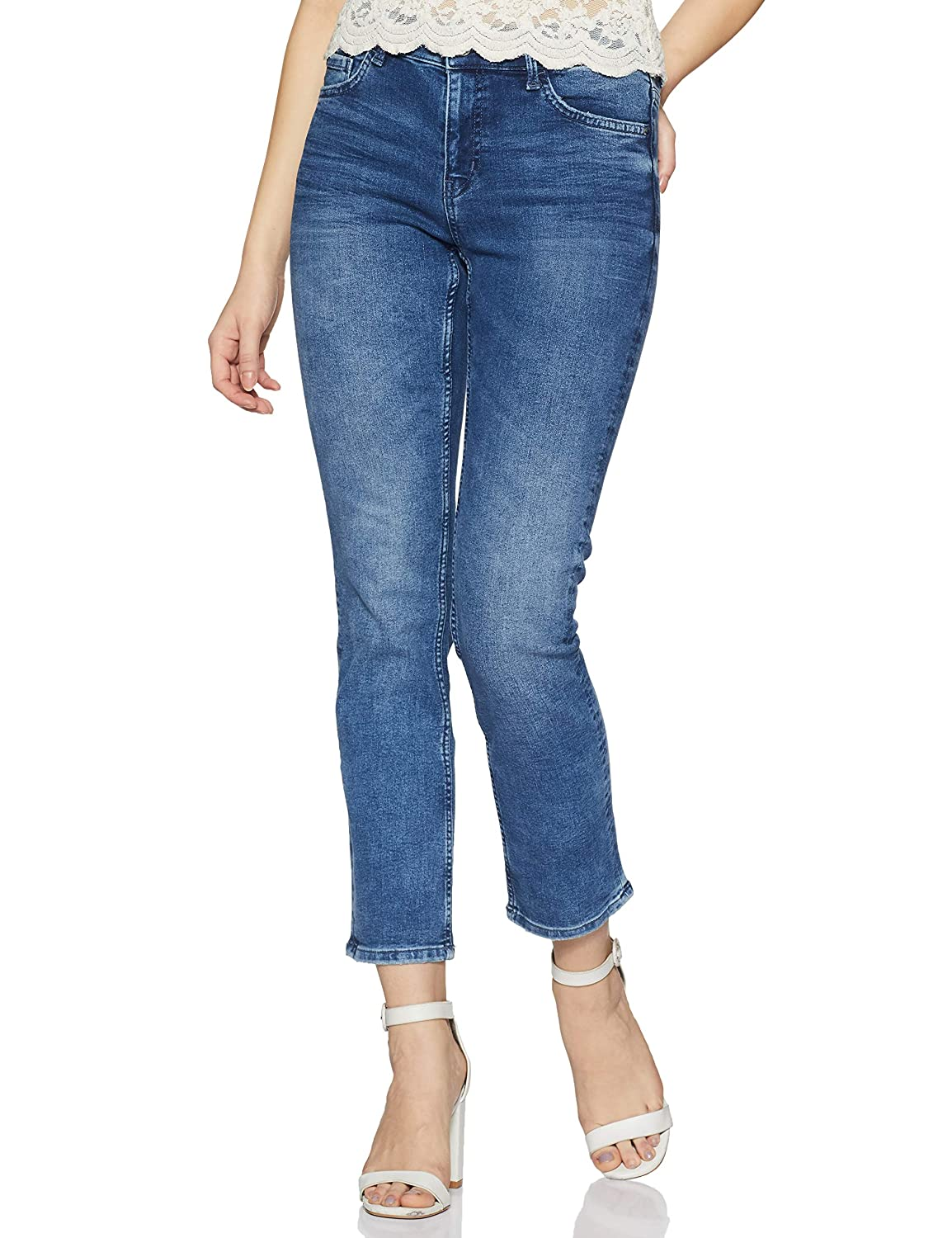 Marks & Spencer Women's Straight Fit Jeans