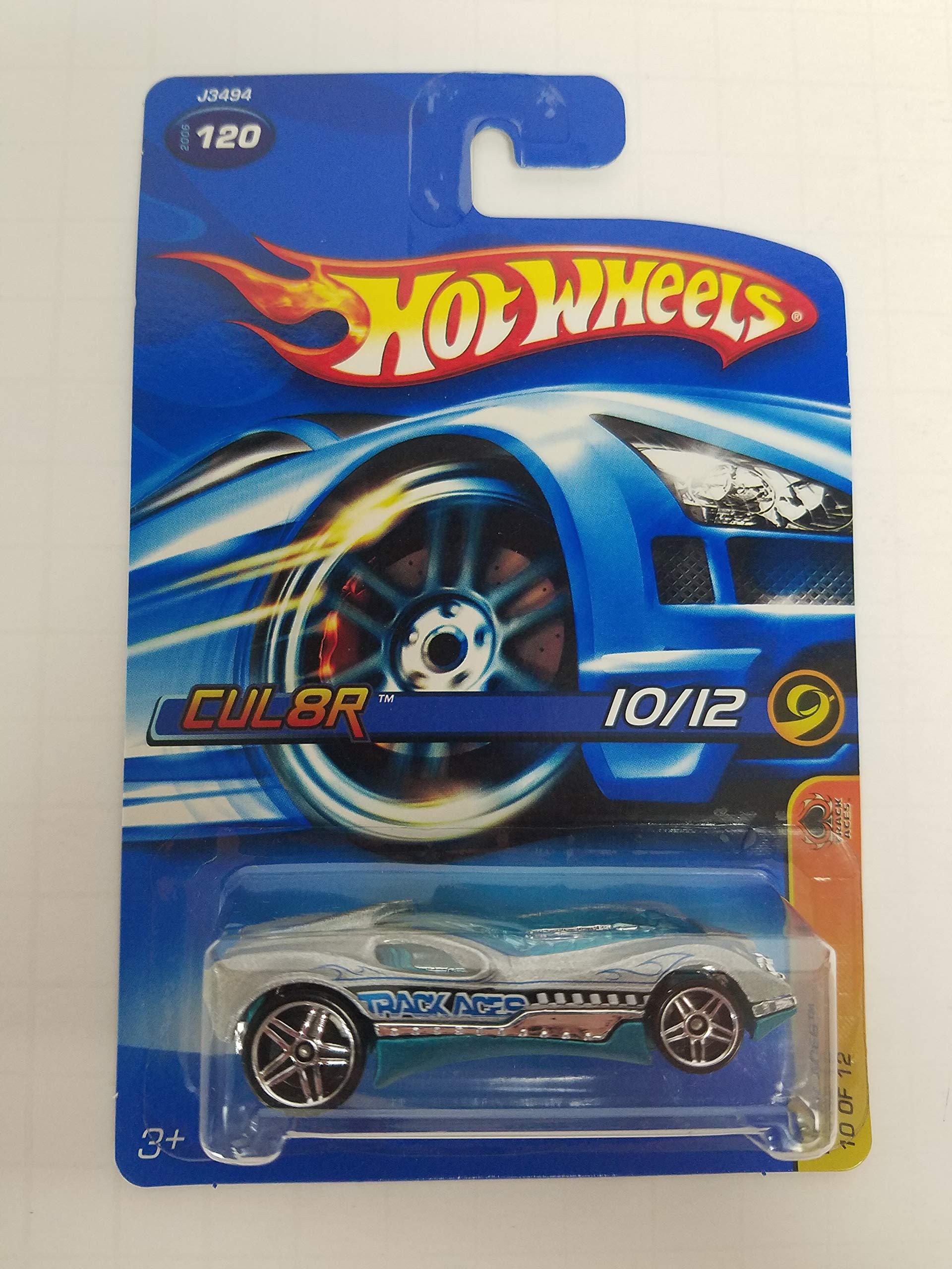 Cul8r Track Aces 10/12 No.120 Hot Wheels 2006 1/64 scale diecast car