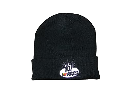 ACTS- MTV Yo! Raps Men s Beanie Black  Amazon.co.uk  Clothing 8393841df41b