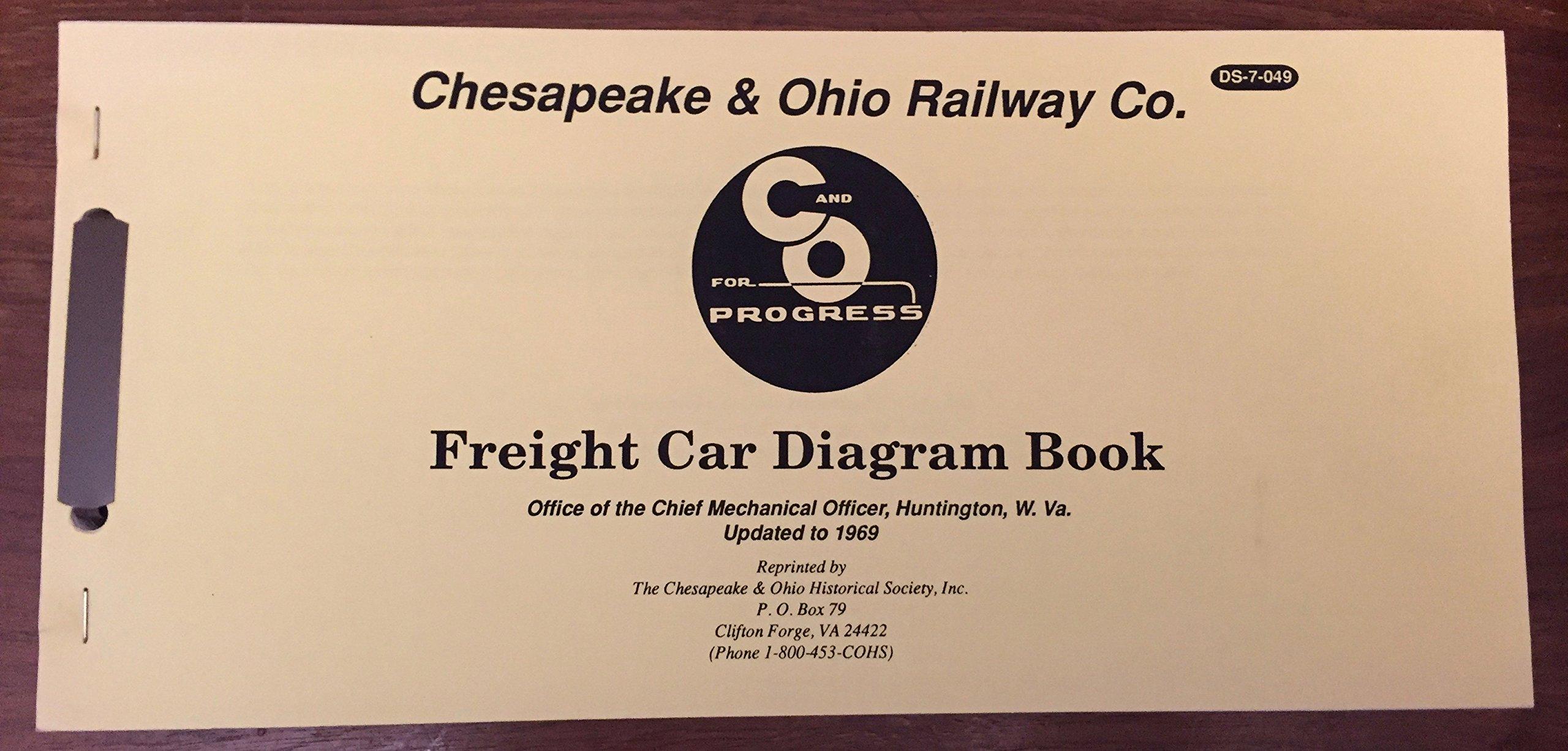 Chesapeake & Ohio Railway Freight Car Diagram Book Updated
