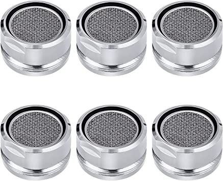 6 Pcs Bathroom Faucet Aerator Parts Male Kitchen Faucet Aerator Amazon Com