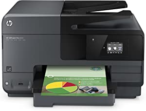HP OfficeJet Pro 8610 All-in-One Wireless Printer with Mobile Printing, HP Instant Ink or Amazon Dash replenishment ready (A7F64A)