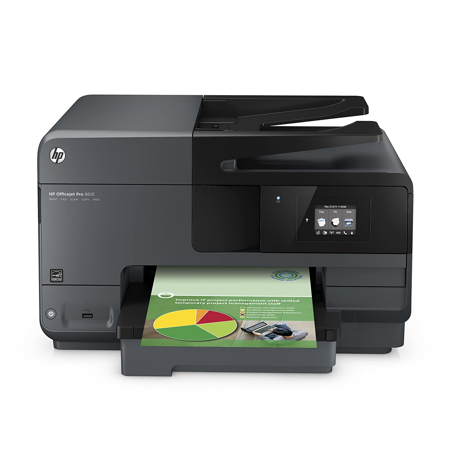 Amazon.com: HP OfficeJet Pro 8610 Wireless All-in-One Photo Printer with  Mobile Printing, HP Instant Ink & Amazon Dash Replenishment ready (A7F64A)  ...