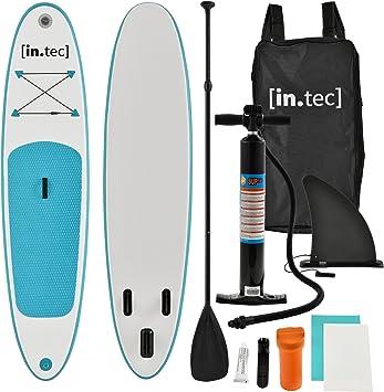in.tec] Tabla de Surf Hinchable remar de pie Paddle Board 305 x 71 ...