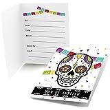 Amazon.com : Sugar Skull Wedding Invitations Dia De Los Muertos ...