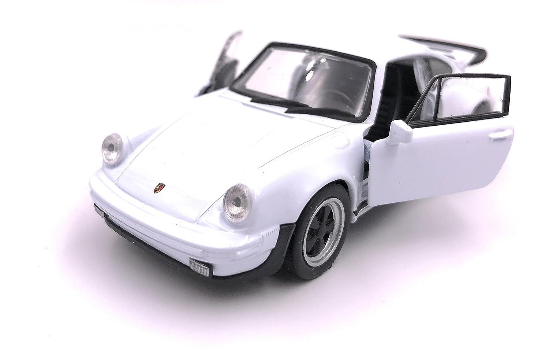 H-Customs Welly Escala de Producto de la Licencia de Modelo de automó vil Porsche 911 Turbo 930 1975 1:34 Color Aleatorio hcm911turboblister
