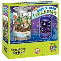 Deals on Creativity For Kids Grow N Glow Terrarium Science Kits for Kids