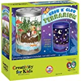 Creativity For Kids Grow 'N Glow Terrarium Science Kits for Kids - Create Your Own Mini Ecosystem