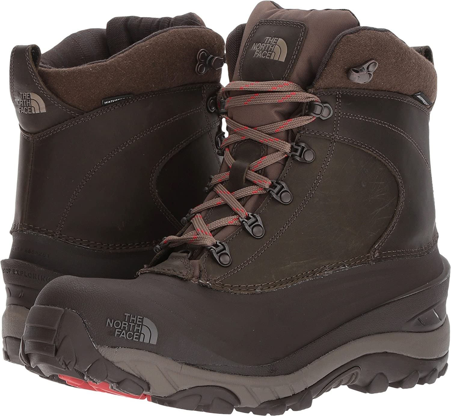 45c48b96a Amazon.com | The North Face Mens Chilkat III Luxe | Snow Boots
