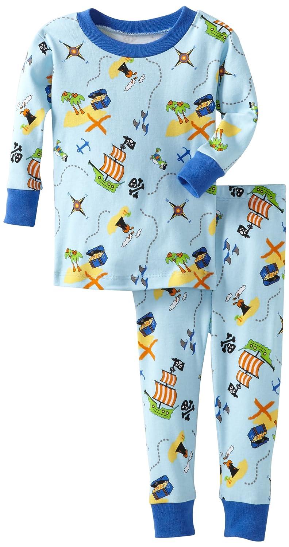 New Jammies Baby Boys Treasure Map Organic Pajamas
