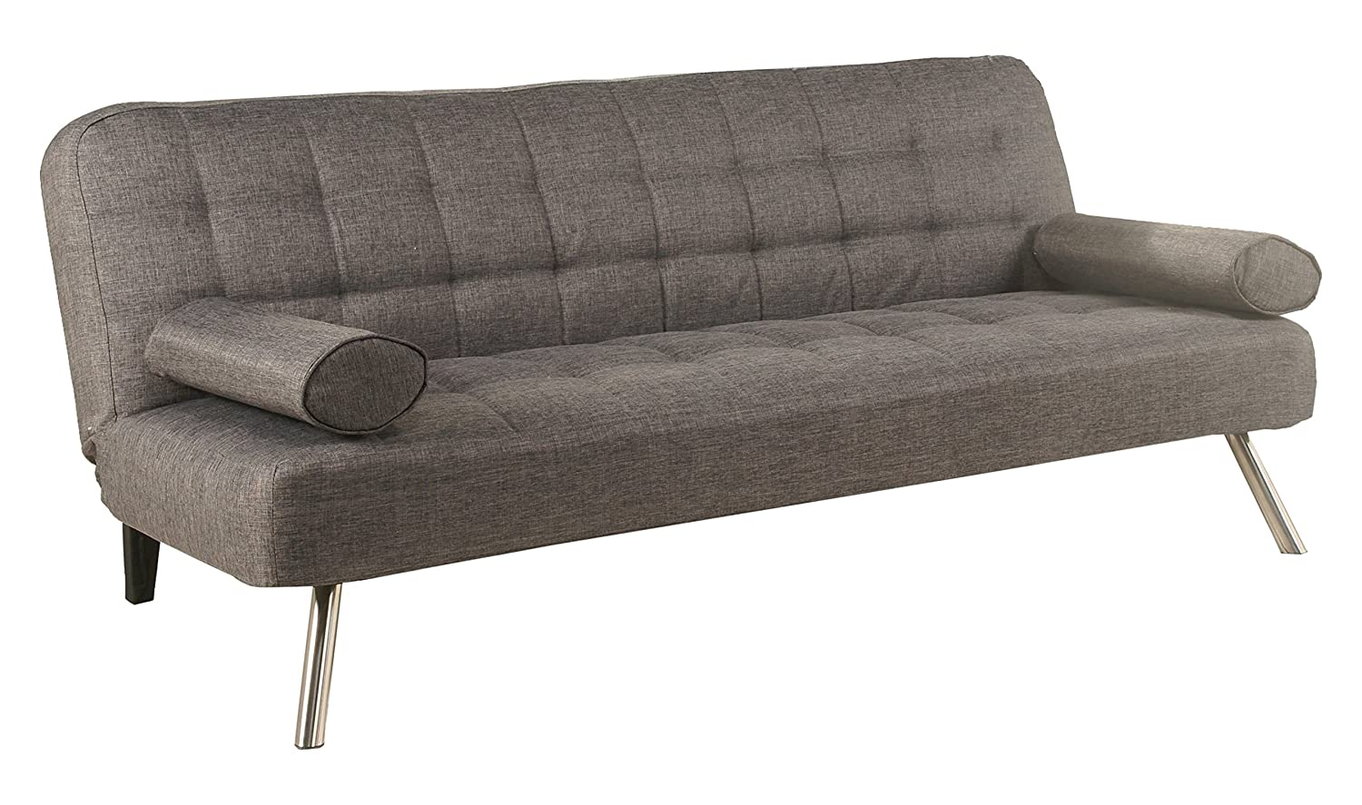 Leader Lifestyle Sofa Bed, Wood, Modern Grey, Three_Seats TBI-PGY-NMX-CSB-ADC509
