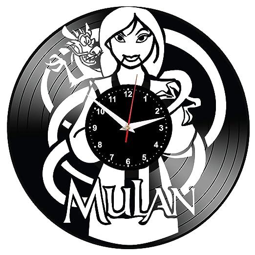 EVEVO Mulan Reloj De Pared Vintage Accesorios De Decoración ...