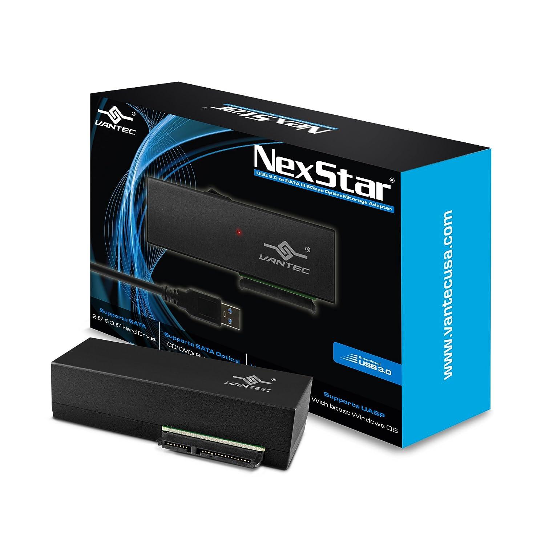 Vantec USB 3.0 to 2.5' SATA HDD Adapter with case (CB-STU3-2PB) Vantec USA