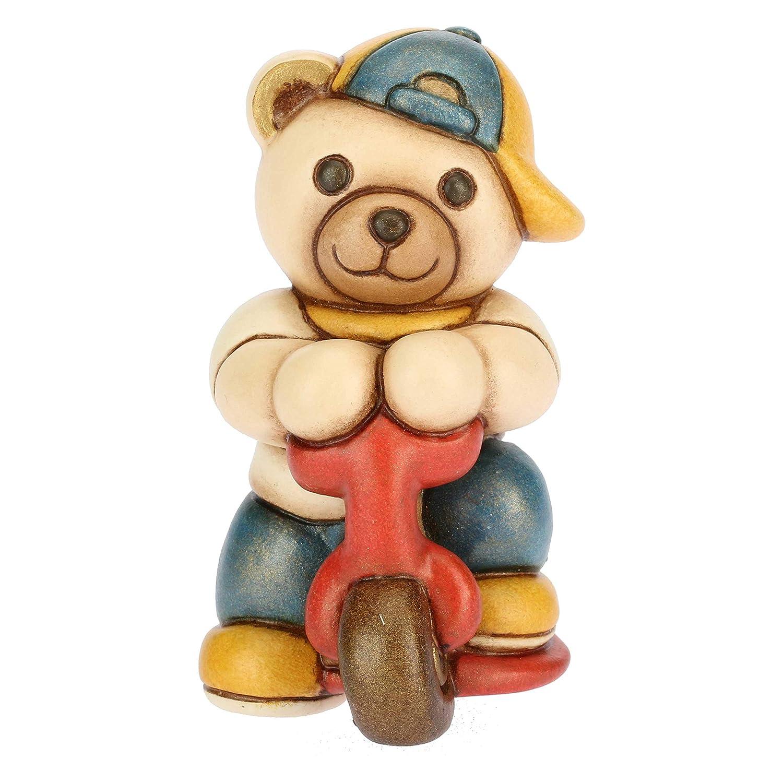 Thun - Teddy pequeño con Patinete - cerámica - h 7,4 cm ...