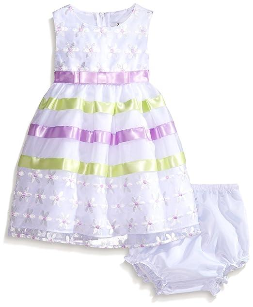 Amazon.com: Ediciones raras bebés bebé niña color blanco y ...