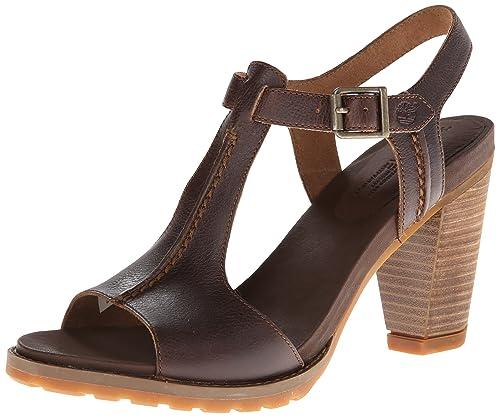 Timberland mujer calzado sandalia marrón piel,zapatos