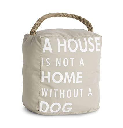 Amazon Pavilion Gift Company 72150 Dog Door Stopper 5 By 6
