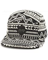 GP Accessories Pattern Multi Color Stripe 5 Panel Hat