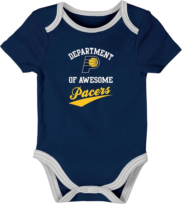 NBA Newborn Team Awesome 2Piece Onesie Bib /& Bootie Set