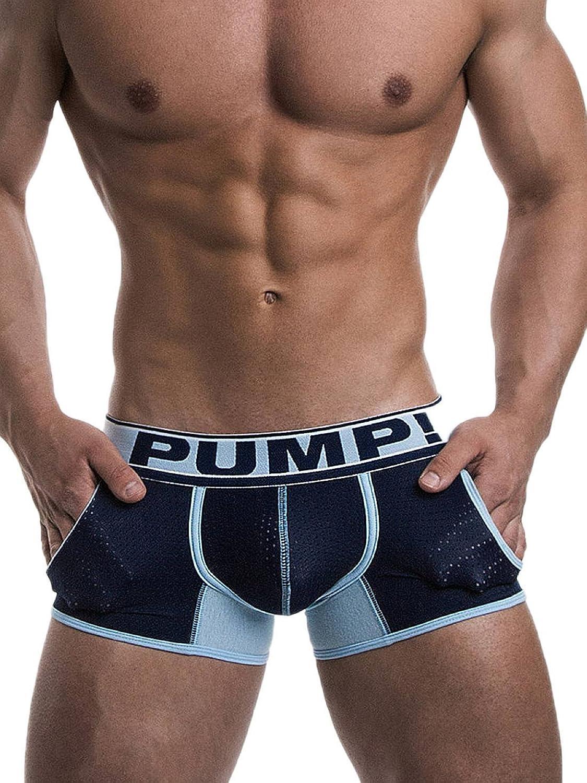 Pump! 11050 Blue Steel Men's Boxer Trunk