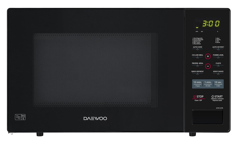 Daewoo Digital Microwave, 26 L, 900 W - Black KOR9GPBR