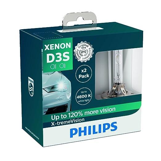 2 opinioni per Philips 42403XVS2Lampadina per Fari allo Xenon X-tremeVision D3S, Confezione