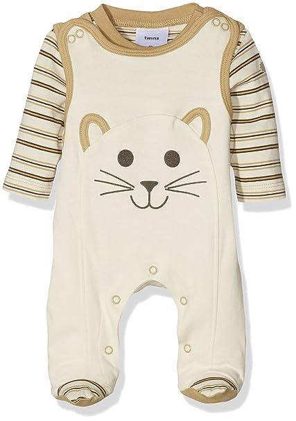 Twins Conjunto de Ropa para Bebé con Pelele y Camiseta Manga Larga: Amazon.es: Ropa y accesorios