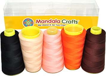3000 yd Solids Persian Red Signature Cotton Quilting Thread