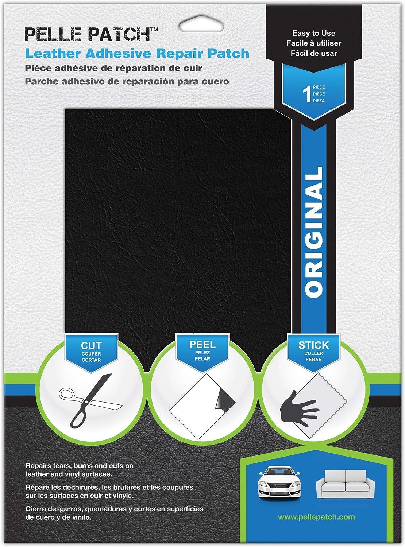 Pelle Patch - Parche Adhesivo de reparación para Cuero y Vinilo ...