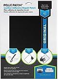 Pelle Patch - Leather & Vinyl Adhesive Repair Patch - 25 Colors Available - Original 8x11 - Black