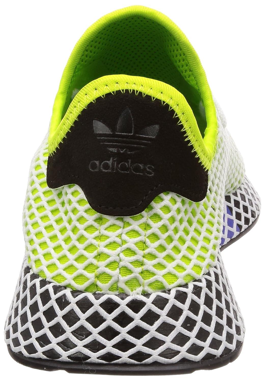 free shipping b086c cb0fa Adidas Deerupt Runner Semi Solar Slime Black Black 44 Amazon.de Schuhe   Handtaschen