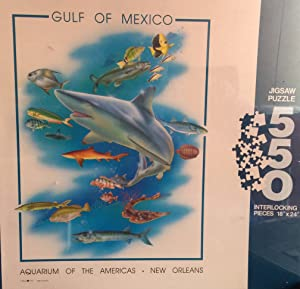 Gulf of Mexico 550 Piece puzzle