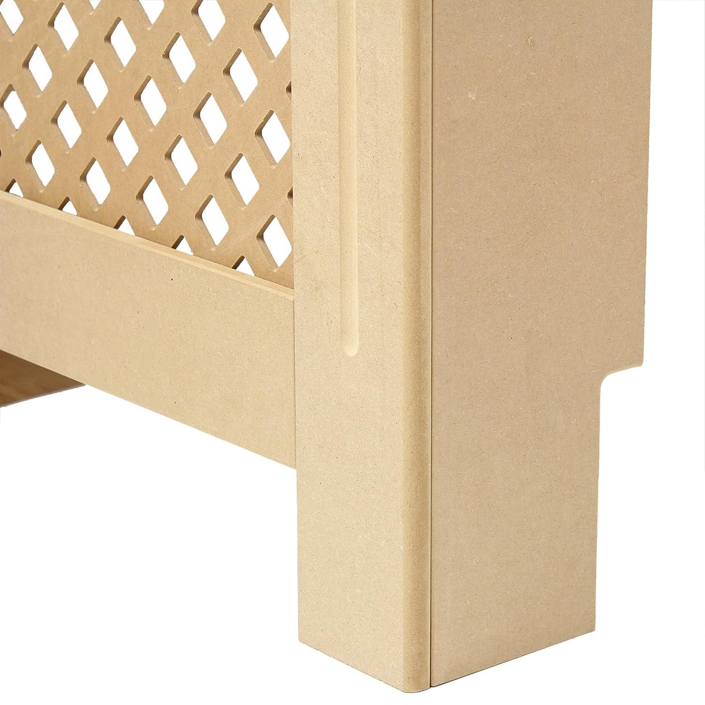Hartleys Traditional Mdf Radiator Cabinet  Choice Of Size Amazoncouk