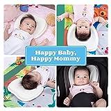 Premium Memory Foam Baby Pillow | 2 Covers & Sleep