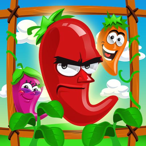 (A Hot Chili Pepper Garden)