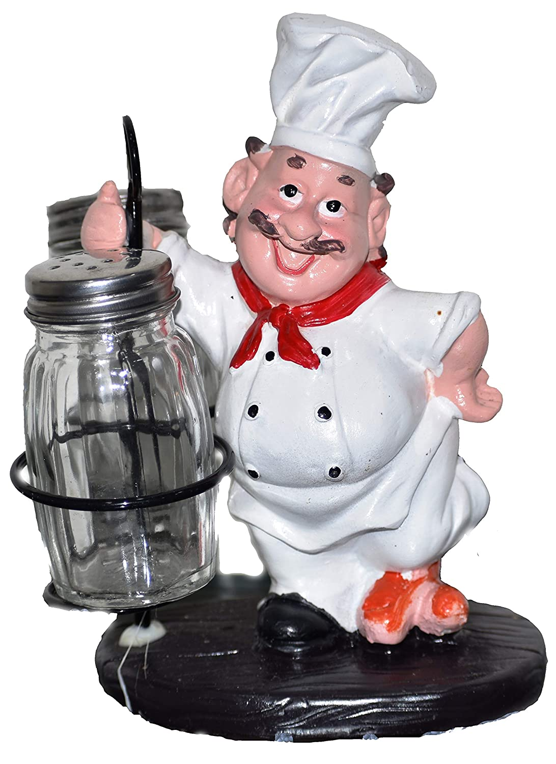 Buy Tailos Fat Italian Chef Figurines Resin Kitchen Decor Cook Statue With Seasoning Bottle 6x4 5 Inch Online At Low Prices In India Amazon