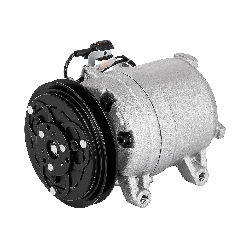 succebuy AC Compresor para Nissan Frontier Xterra Compresor AC Embrague 1998 - 2004 aire acondicionado Compresor 2.4L: Amazon.es: Coche y moto