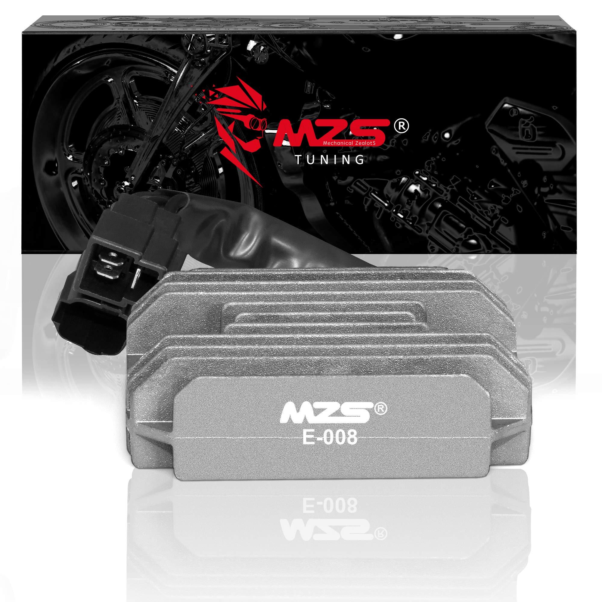 MZS Voltage Regulator Rectifier for Suzuki GSXR600 GSXR750 06-11/GSXR1000 05-12/DL650 04-12/SV650 03-12/SFV650/SV1000/GSX650 GSX650F/GSR750/GSF1250/VL800/VL1500/Arctic Cat 375 400 500 TRV TBX 01-09