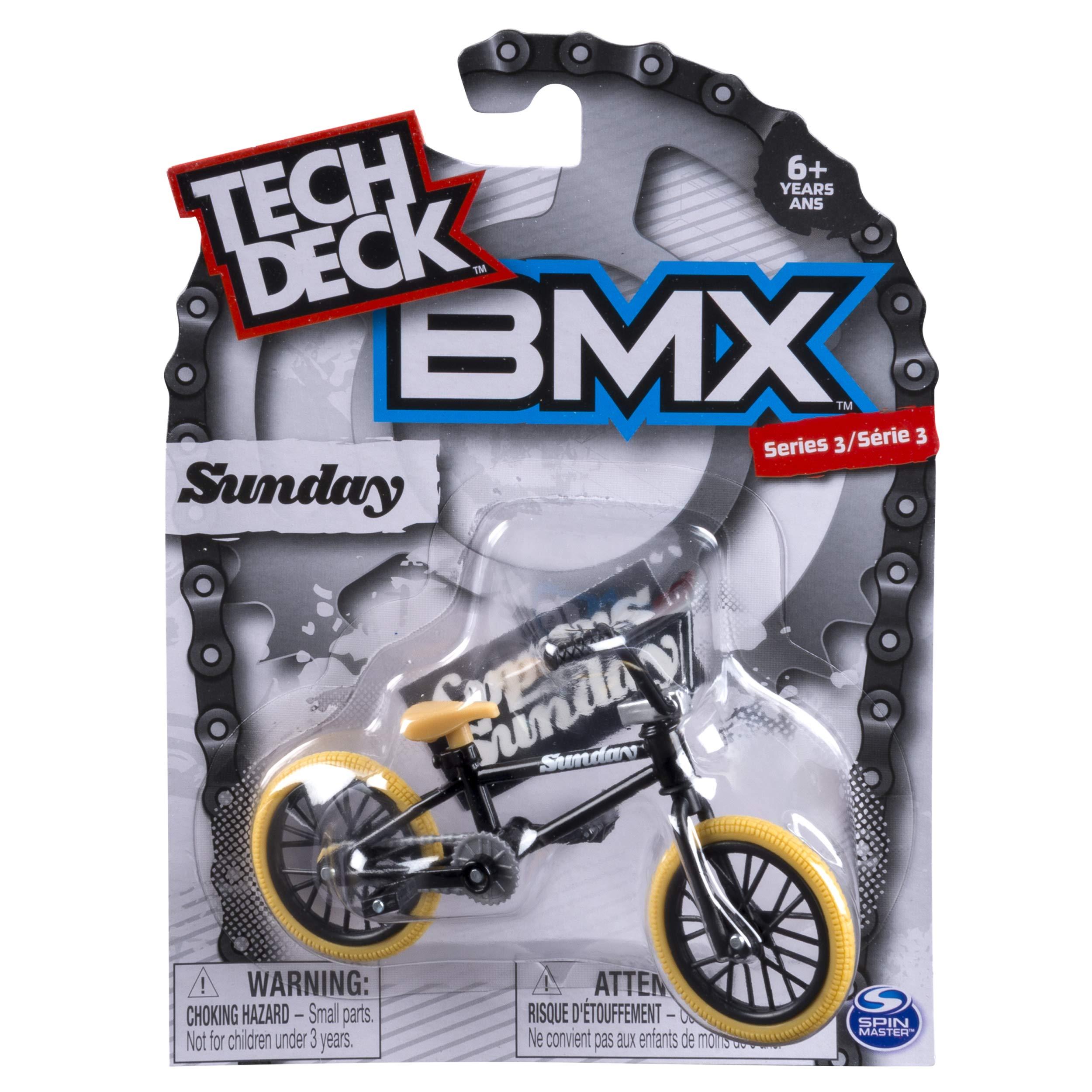 Tech Deck - BMX Finger Bike - Sunday - Black/Orange