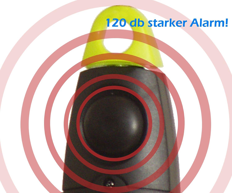 My staysafe/ /ueberfallschutz/ /Allarme e lampada come affidabile compagno di sicurezza