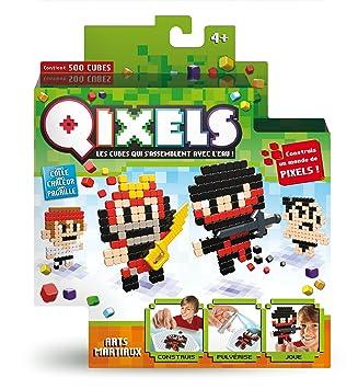 Kanaï Kids - KK87005 - Mini Kit De 4 Créations Qixels - Thème Art ...