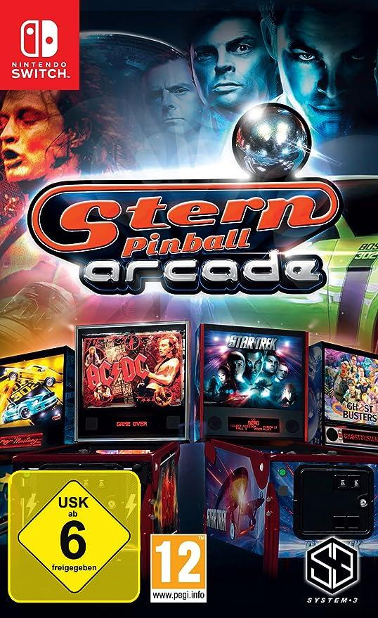Stern Pinball Arcade - Nintendo Switch [Importación alemana]: Amazon.es: Videojuegos