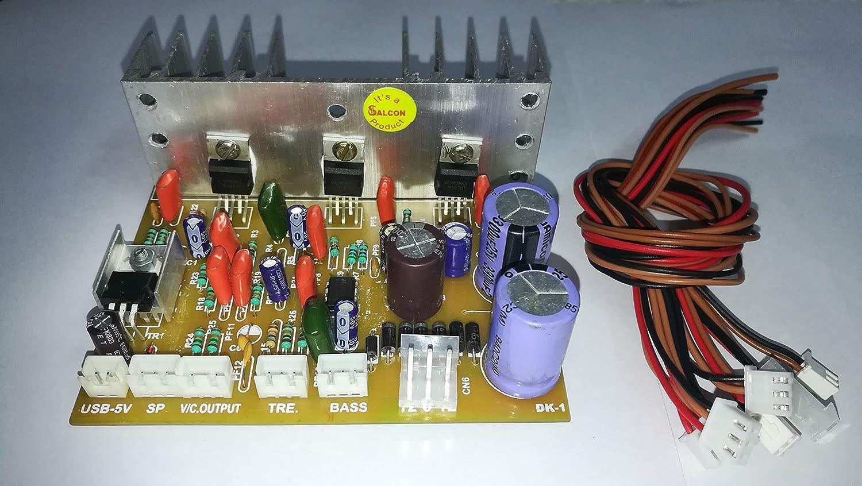 Salcon LM1875 NE5532 2 1 Audio Amplifier Board Kit Watt