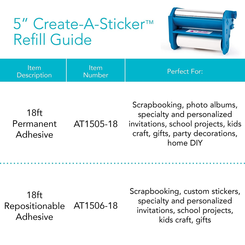 Amazon com xyron xrn500en 5 inch create a sticker machine office products