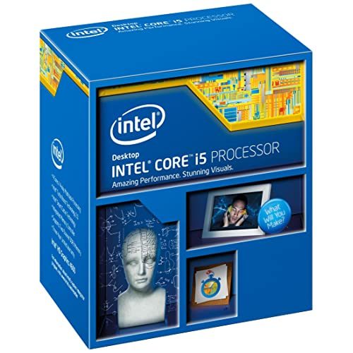 Intel Haswell Processeur Core i5-4460 3.2 GHz-3.4 GHz 6Mo Cache Socket 1150 Boîte  (BX80646I54460)