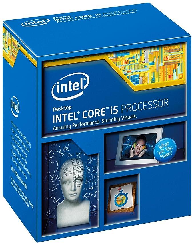 Intel Core i5-4460 - Procesador (Socket H3, 3.2 GHz, 6 MB, Intel HD Graphics 4600 de 2 GB a 350 MHz)
