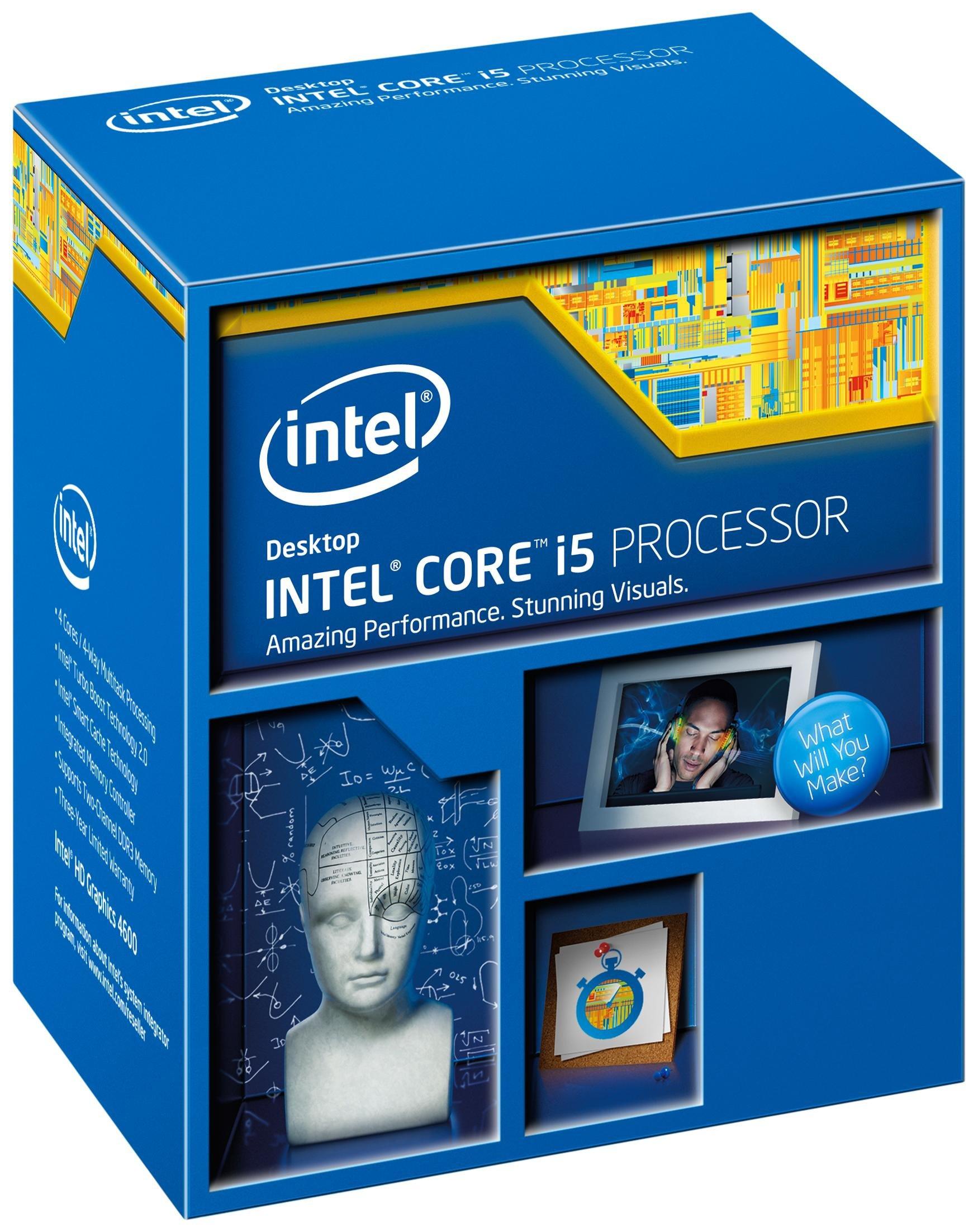 Intel Core i5-4460 LGA 1150 CPU - BX80646I54460 by Intel
