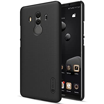 newest collection a67da 1c944 Nillkin Huawei Mate 10 Pro Case, Frosted Shield Easy Grip Anti Slip Slim &  Lightweight Hard Case Back Cover For Huawei Mate 10 Pro (Only For Mate 10  ...