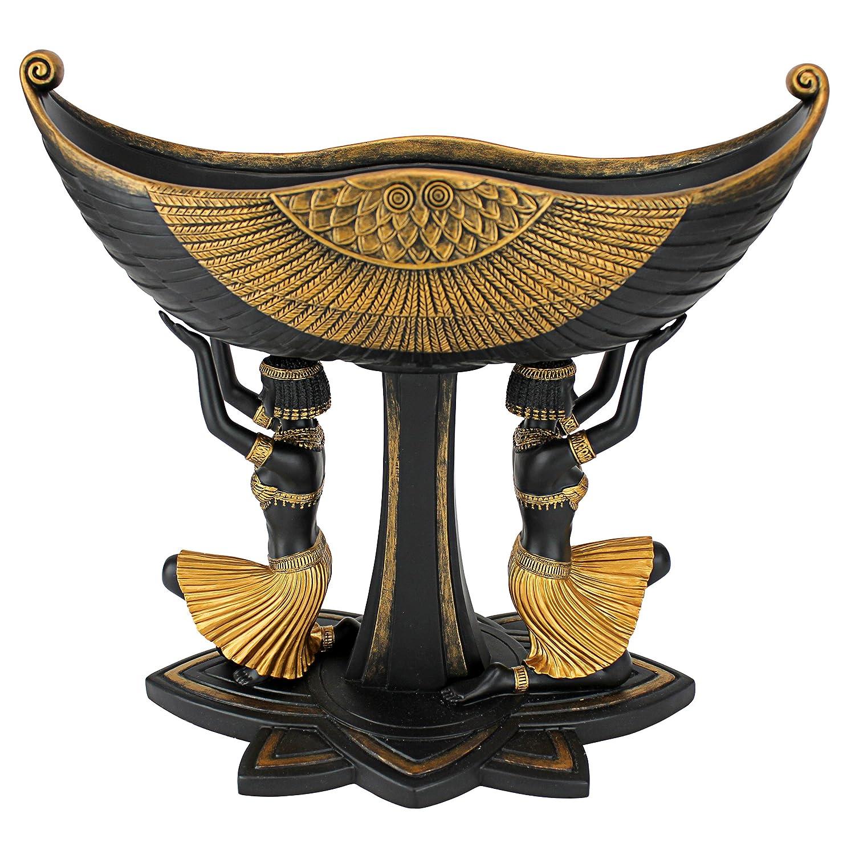 Design Toscano Egyptian Maidens Voyage Pedestal Urn WU76957